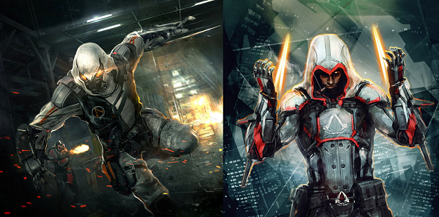 A Futuristic Vision Of Assassin S Creed