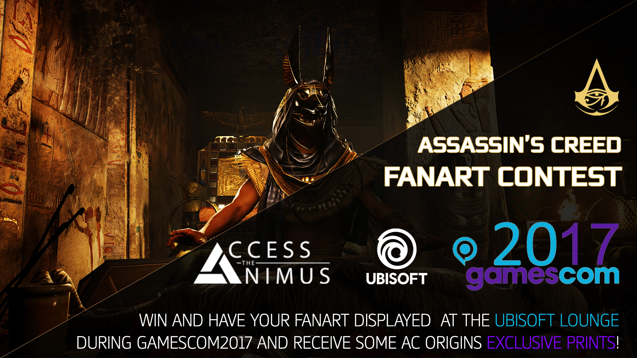 Assassin S Creed Fanart Contest By Access The Animus Gamescom2017