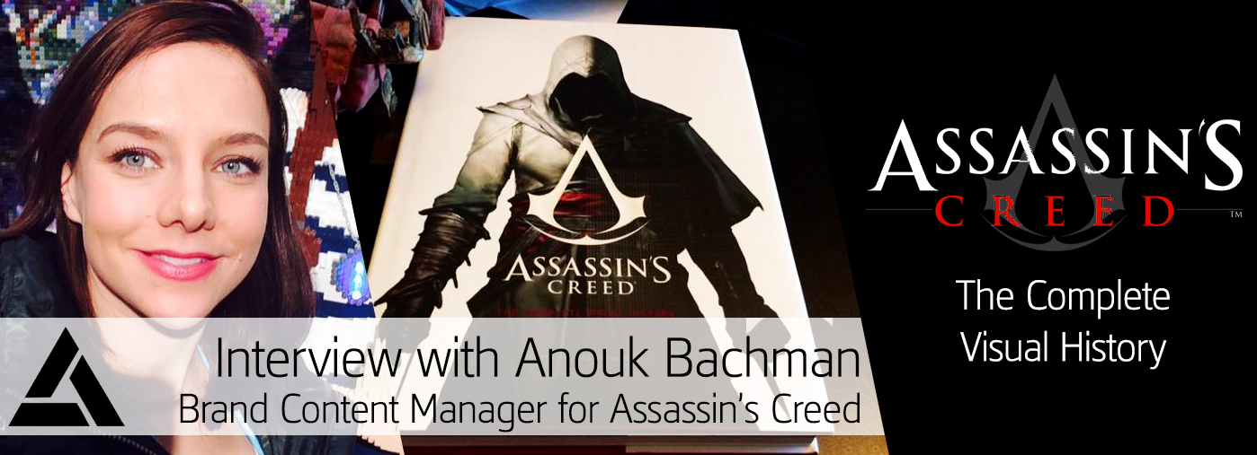 Assassin's Creed: The Complete Visual History - Interview with Anouk Bachman