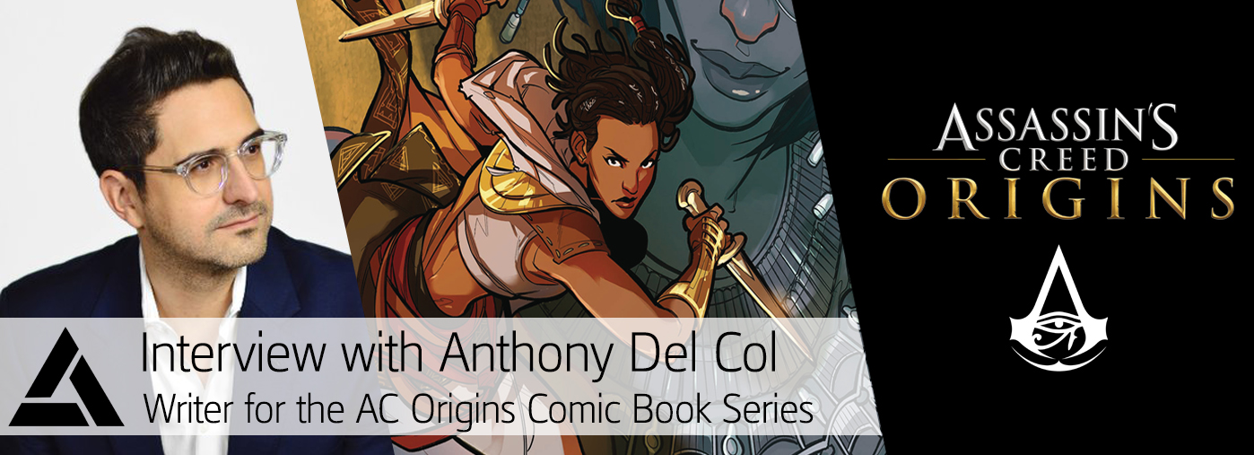 Access The Animus Assassin S Creed Origins Comic Anthony Del