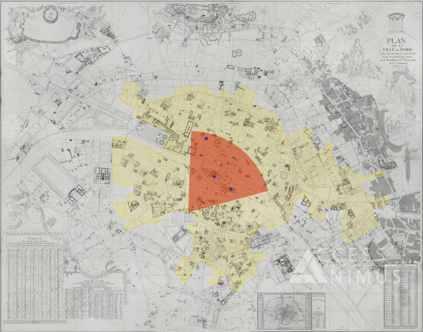 assassins creed unity map